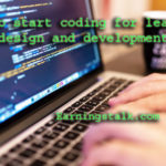 How to start coding for learning web design and development