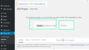 upload wordfence plugin