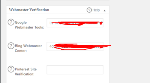 Google webmastes tools verification example