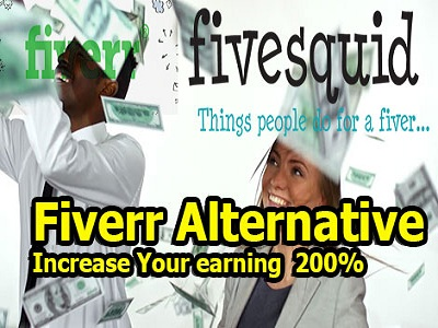 Fiverr  Alternative Market fivesquid new freelancing marketplace