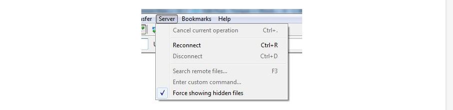 hidden file httaccess