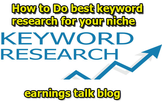 How to do Best keyword research For your niche