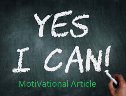 From Yes You Can To Yes We Did To Yes >> If You Think Yes I Can So Before Start Any Work 50 Done