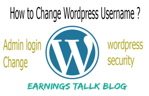 How to change wordpress username 2019 | WordPress login changes