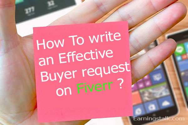 fiverr buyer request tips and tricks