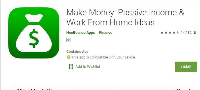 Make money passive income