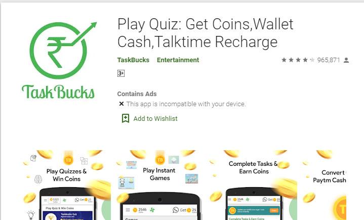 Task-bucks-android-money-making-apps