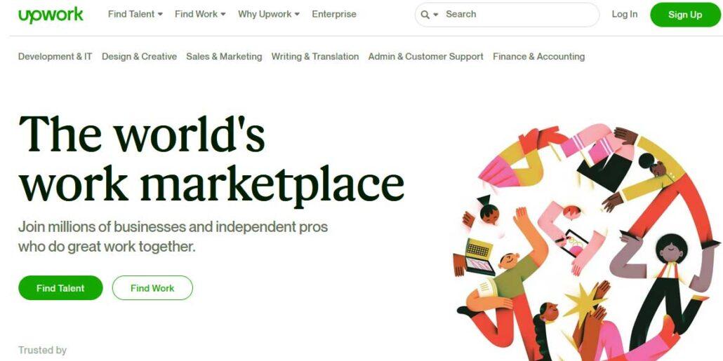 upwork-freelance-marketplace